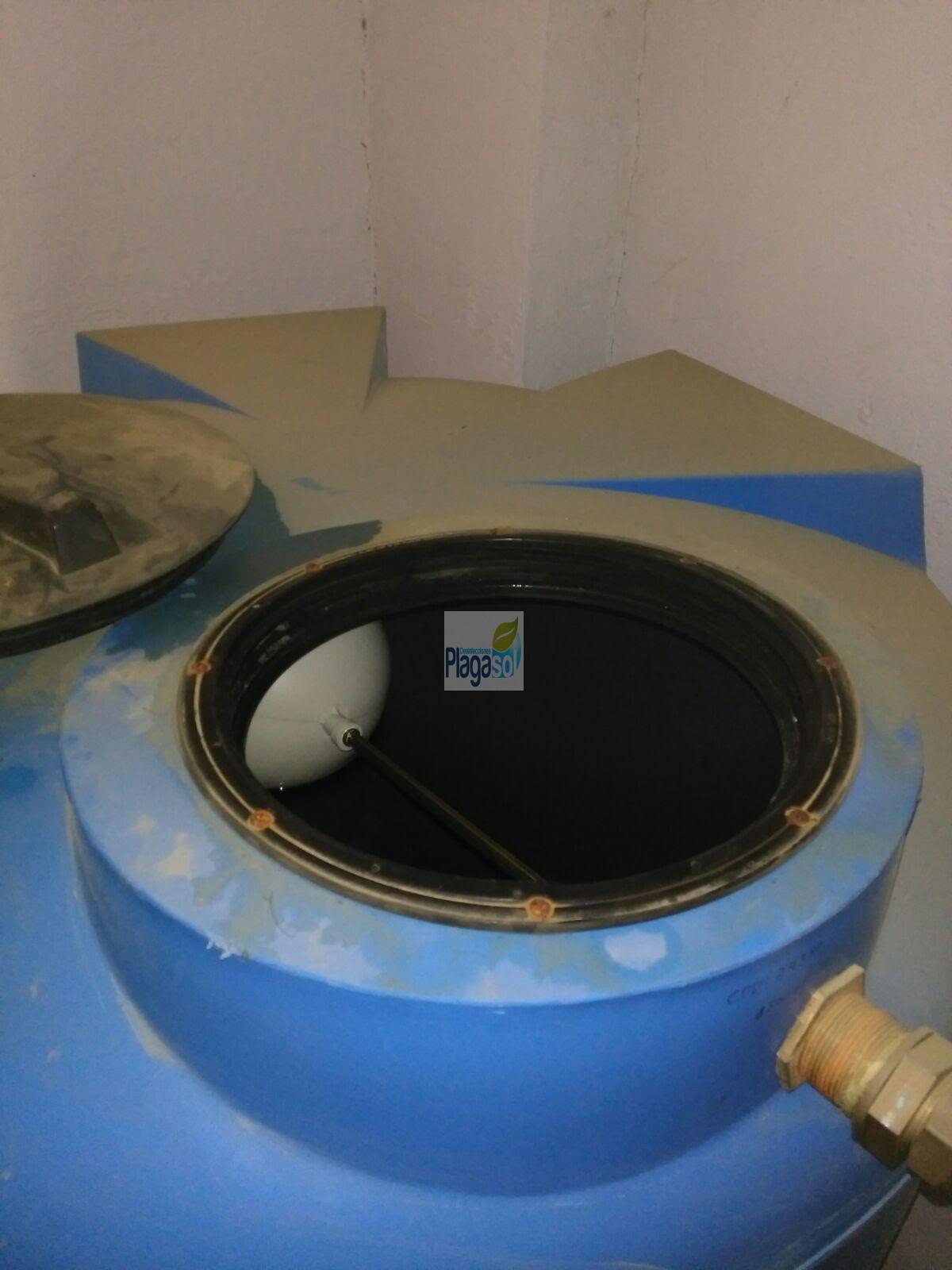 Limpieza deposito de afch en la campana sevilla for Control de plagas sevilla