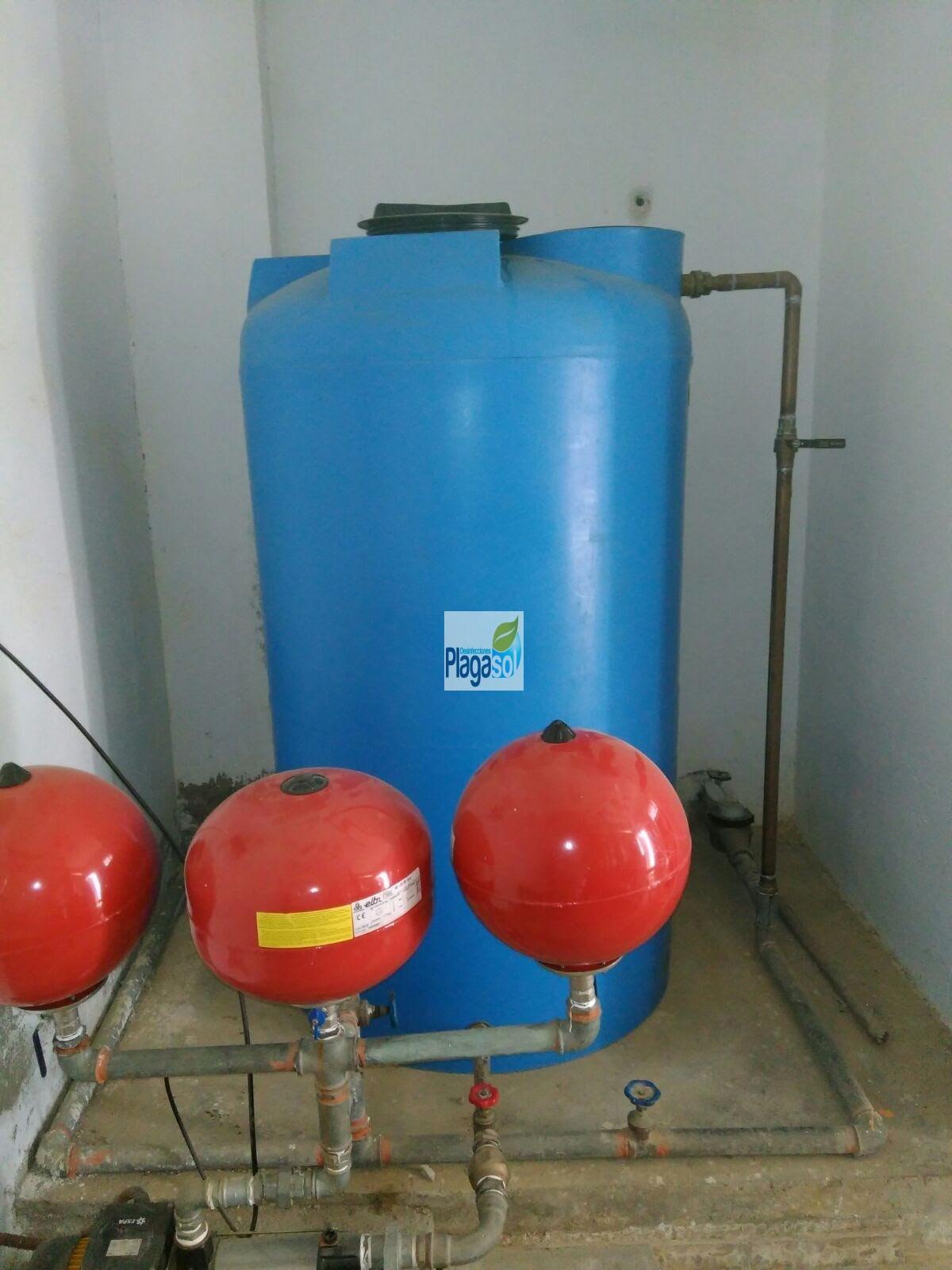 Limpieza afch la campana plagasol control de plagas for Control de plagas sevilla