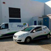 vehículos control plagas plagasol
