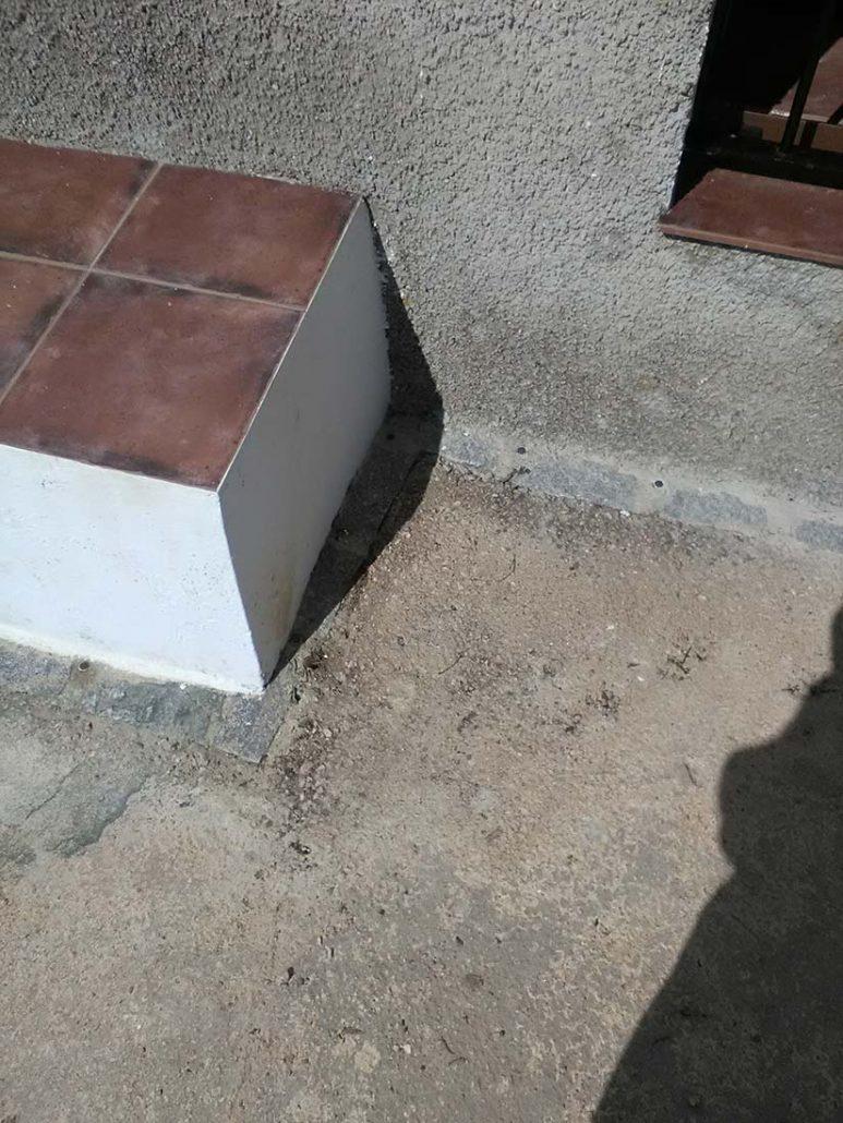 tratamiento contra termitas en casa rural de constantina