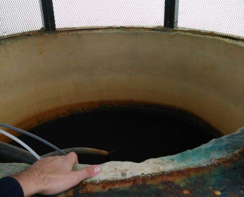 Limpieza de sistemas de agua fria de consumo humano en Huelva.