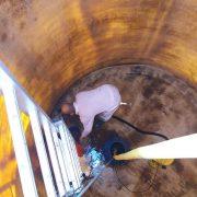 Limpieza de depósitos de agua