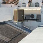 Video el antes y el después de trabajo de limpieza en sistema de refrigeración condensador evaporativo en Estepa