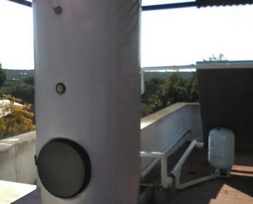 Limpieza sistema de agua caliente sanitaria ACS Amonte