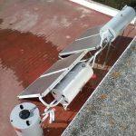 Limpieza sistema de agua caliente sanitaria ACS, Acumuladores de agua caliente y sistema de agua solar, en la localidad de Almonte.
