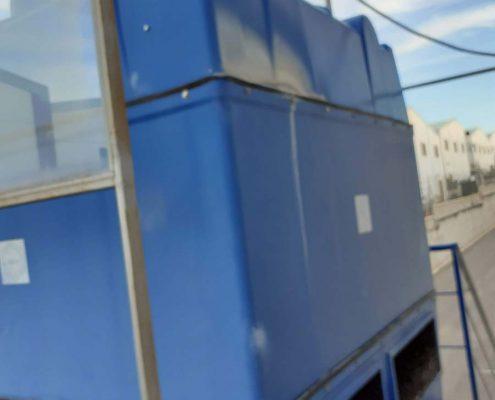 Mantenimiento de torre de refrigeración en la comarca de Écija.