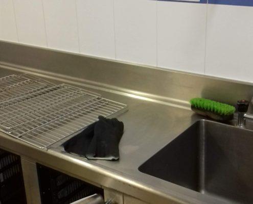Desinfección cámara frigorífica